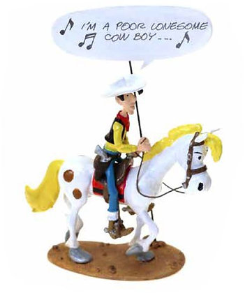 "LUCKY LUKE : ""I'M A POOR LONESOME COWBOY"" - ORIGINE LUCKY LUKE"