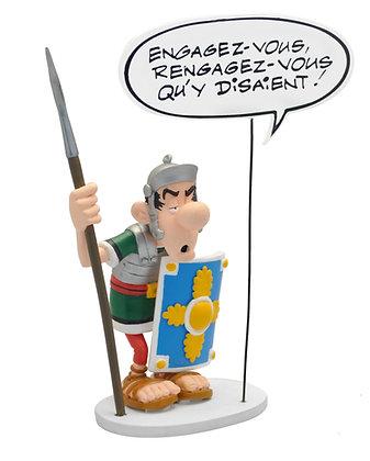 """LE ROMAIN BULLE """"ENGAGEZ-VOUS..."""""""