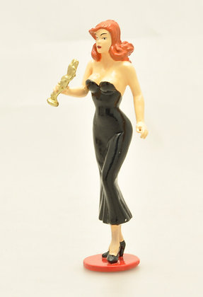 PIN-UP ET LA STATUETTE