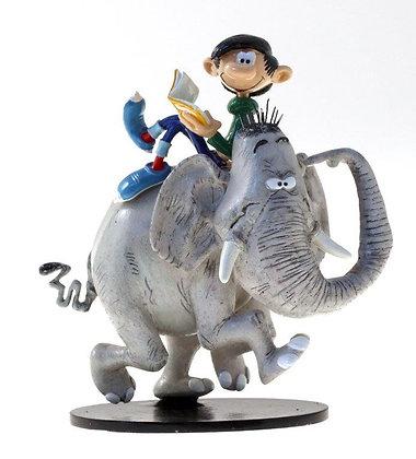 Gaston et l'éléphant
