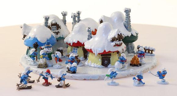 PIXI MINI - Le village Schtroumpfs sous la neige
