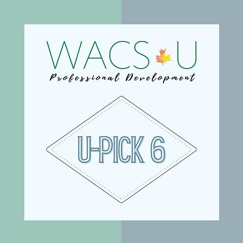 U-Pick 6