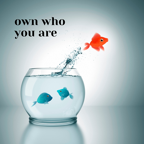 own who you are, kelowna therapist, counselling okanagan, be the change