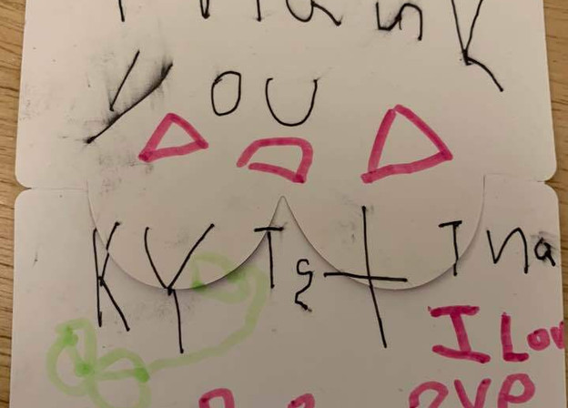 To Kristina, From Daniel Kong