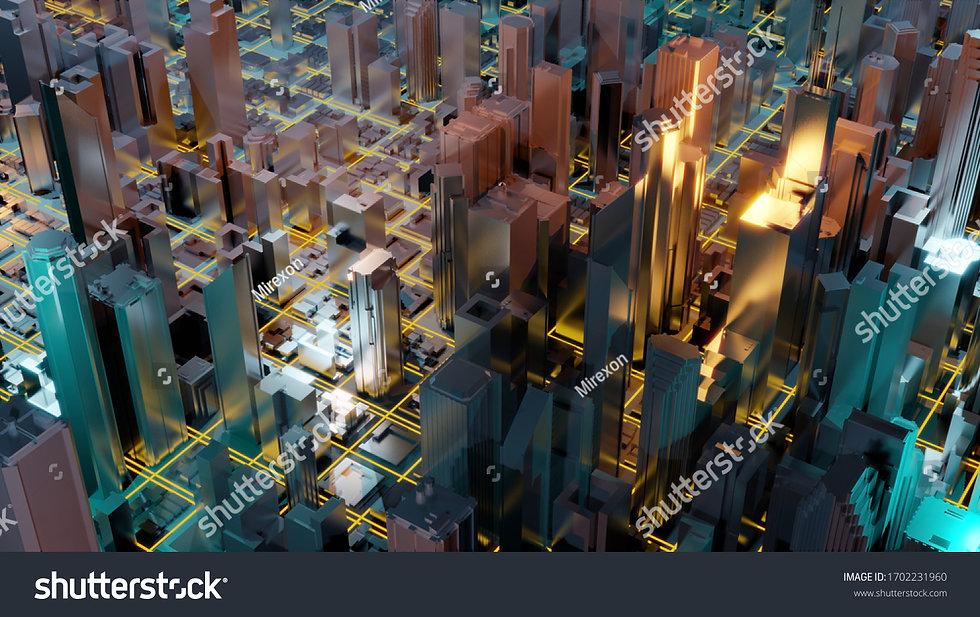 stock-photo-digital-d-rendering-city-lig