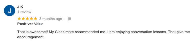 Review from JK