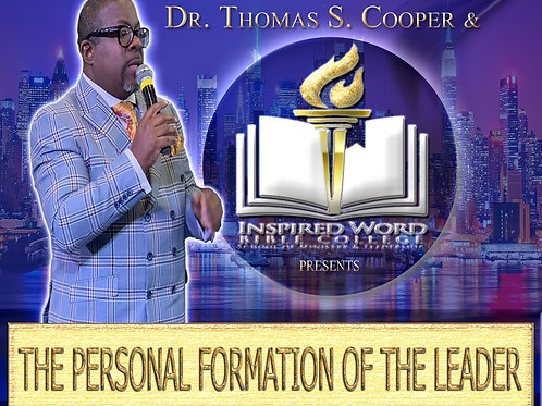 """Spring Pop-Up Course """"The Personal Formation of the Leader"""""""