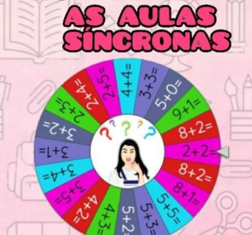 LINKS DE ROLETAS PARA AULAS SÍNCRONAS