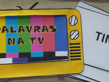 PALAVRAS NA TV