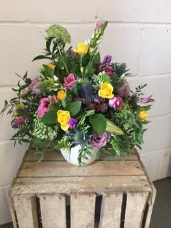 Seasonal pot arrangement 2