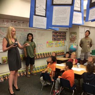 Elementary School Marine Science Outreach