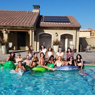 Graduation Pool Party