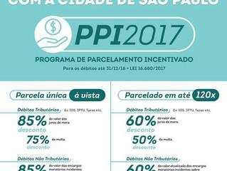 PPI 2017 é aberto pela Prefeitura de São Paulo