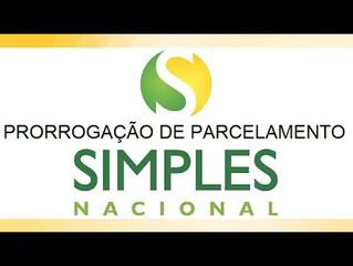 Simples Nacional/Previdenciária - Prorrogados os prazos de pagamento de parcelas