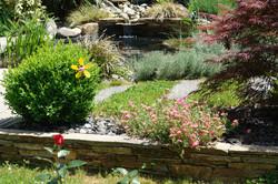 La Bigourd'in son jardin sa terrasse