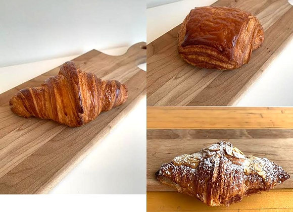 Mixed croissants/2 of each (Tue/Wed/Thu)