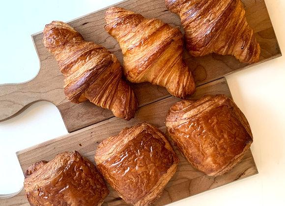 3 Plain & 3 Chocolate Croissant (Tue/Wed/Thu)