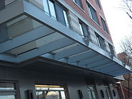 Glass & Metal Canopy