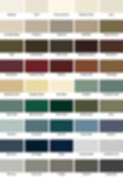 Weather Shield Designer Paint Colors