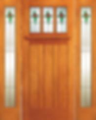 AWW Wood Entry Doors