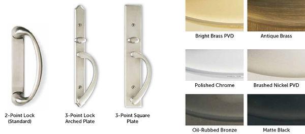 Weather Shield Door Hardware Finish Options