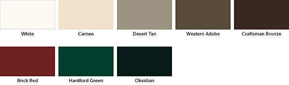 Weather Shied Wood Exterior Color Options