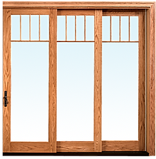 Wood Telescoping Door