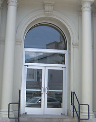 Aluminum Entrace with Round Top