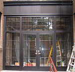 Custom Aluminum Entrance