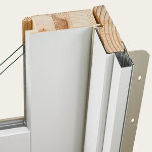 Aluminum Clad Window Section
