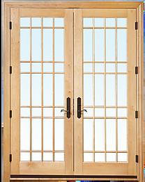 Wood Patio Doors