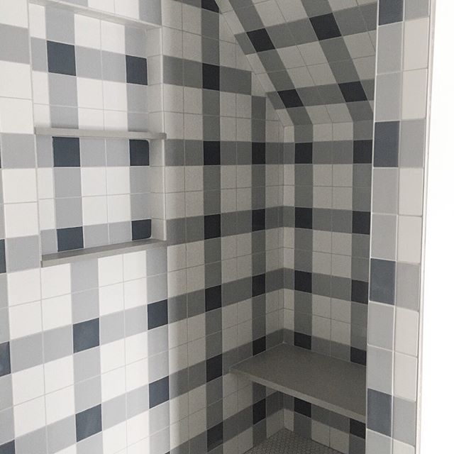 Charming plaid shower by #SJD (don't min