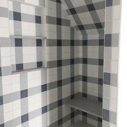 Charming plaid shower by #SJD (don't min