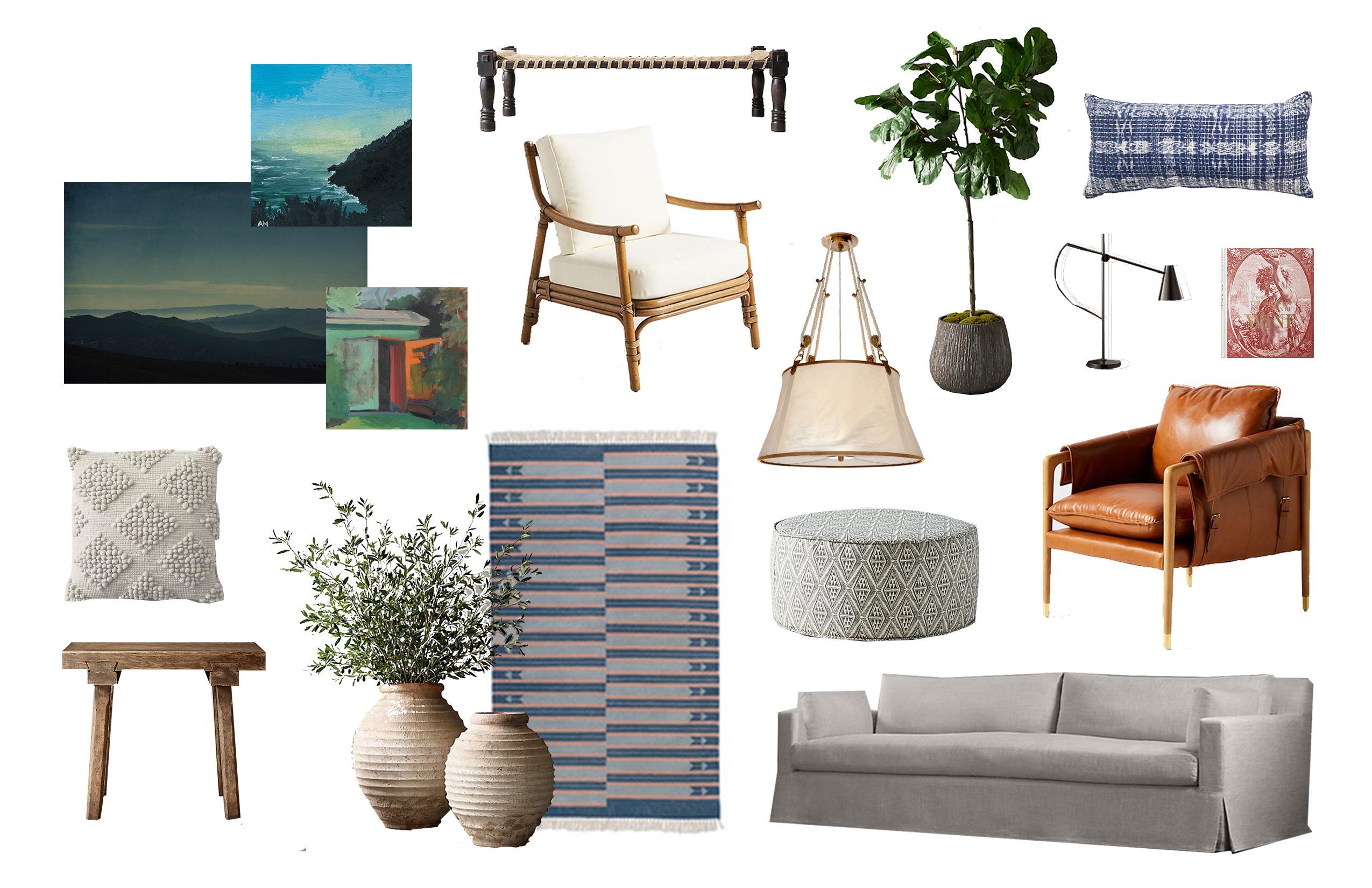 Eclectic Living Room II