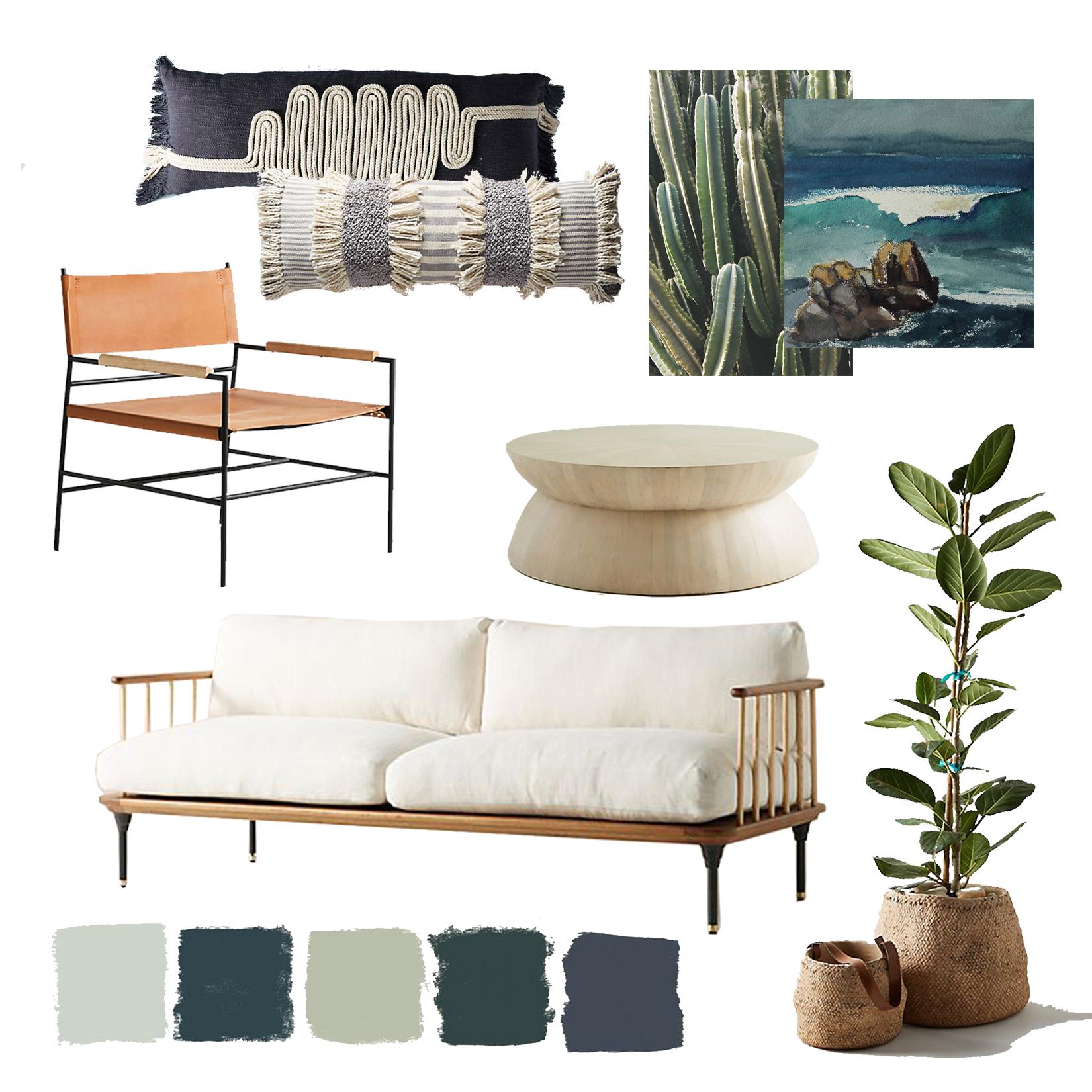 Boho Living Room II