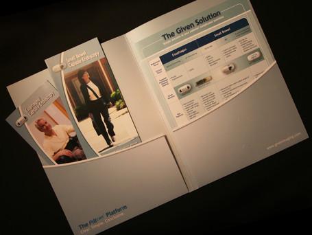 Brochures Flyer and Pocket Folder