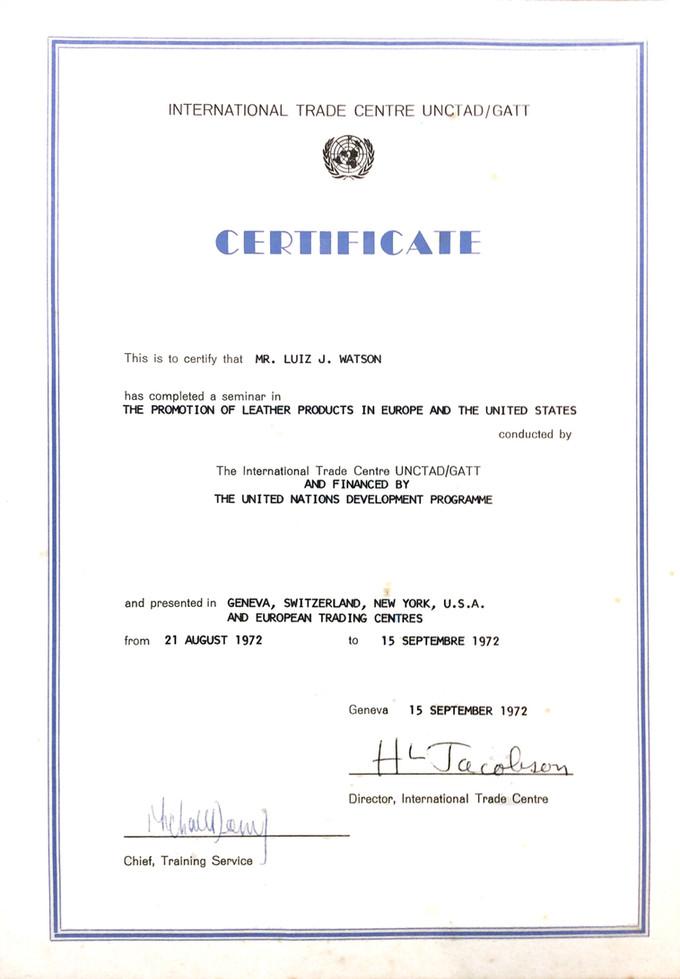 Em 1972 o design autoral brasileiro é reconhecido na Europa e nos EUA