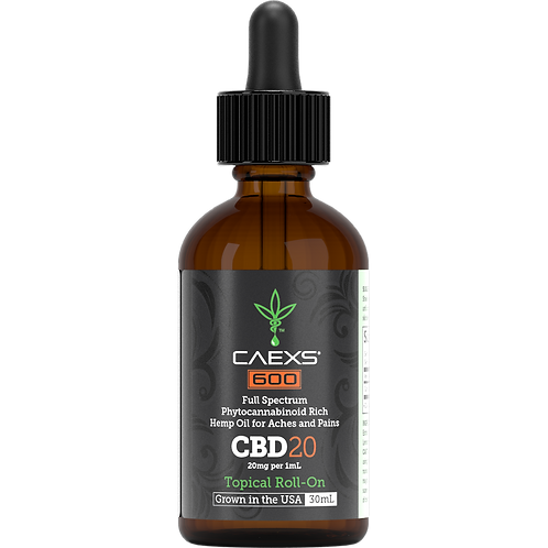 CAEXS 600 | CBD 20 Full Spectrum Sublingual