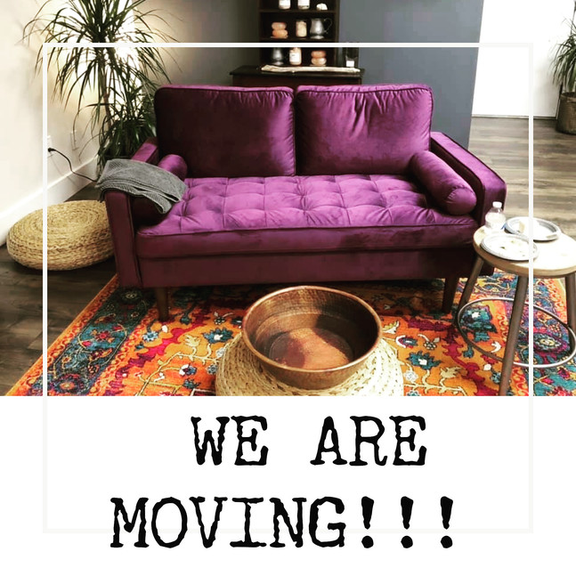 Did you hear?  We are moving!!!