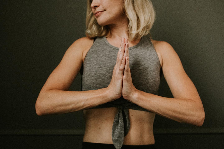 Yoga branding portraits