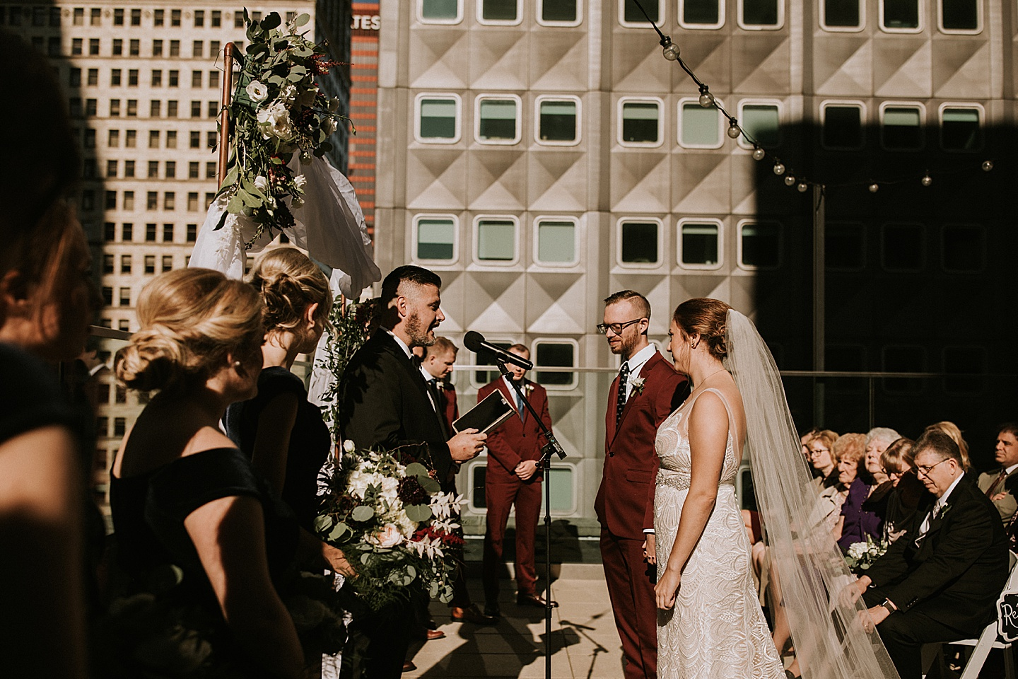 Downtown Pittsburgh wedding
