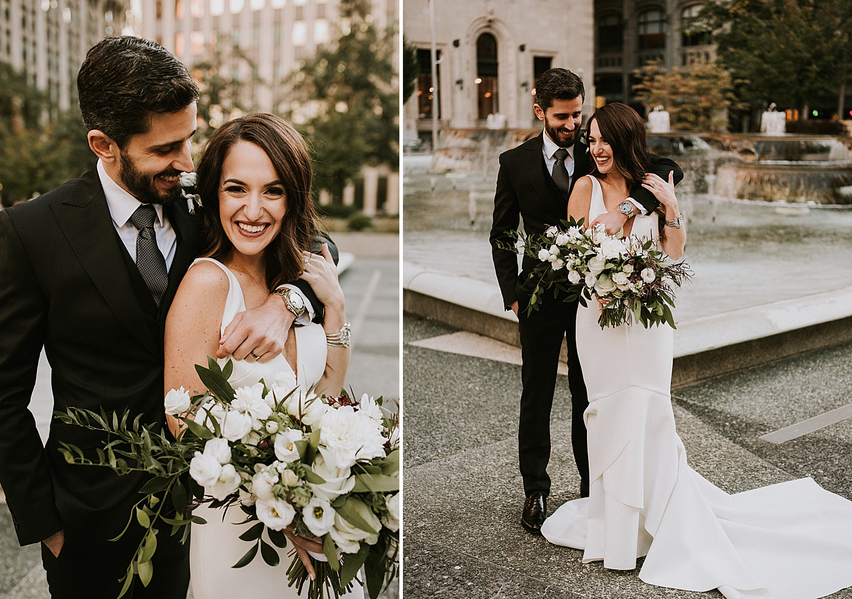 Pittsburgh wedding portraits