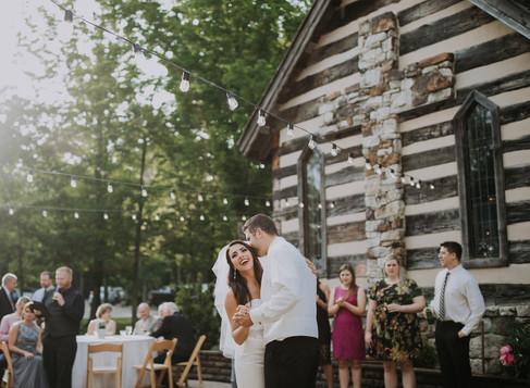 brian & kellie married @ oak lodge