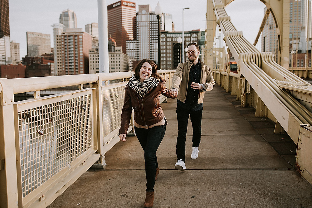 Pittsburgh PA photographers North Shore session