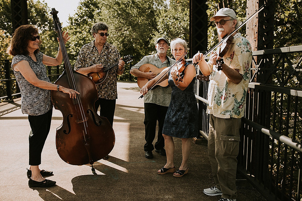 Pittsburgh wedding bluegrass band