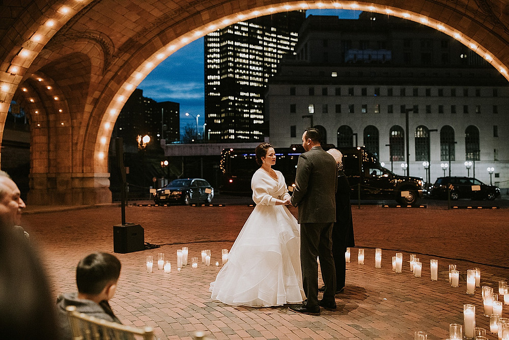 Pittsburgh Union Station Wedding