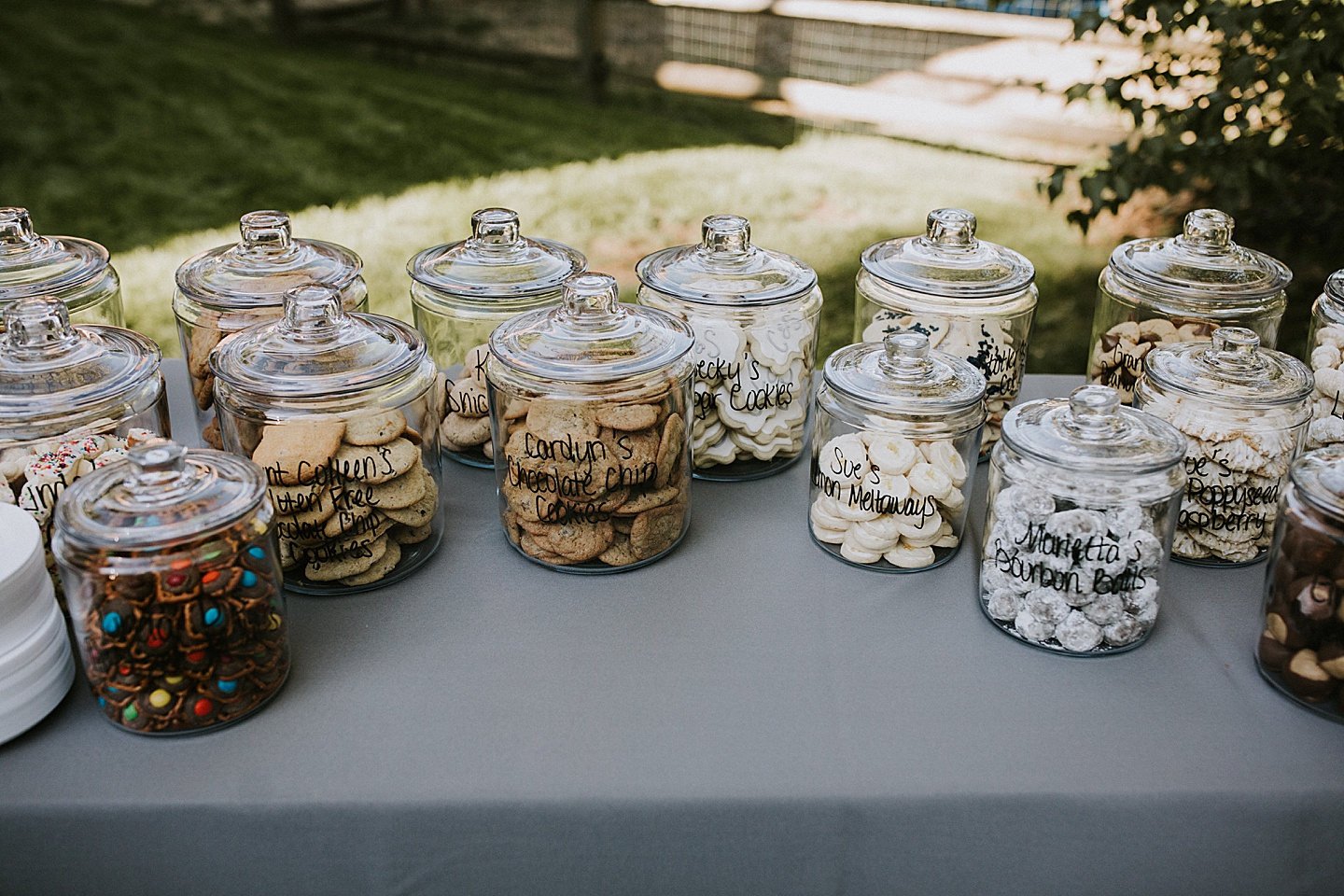 Pittsburgh cookie table ideas
