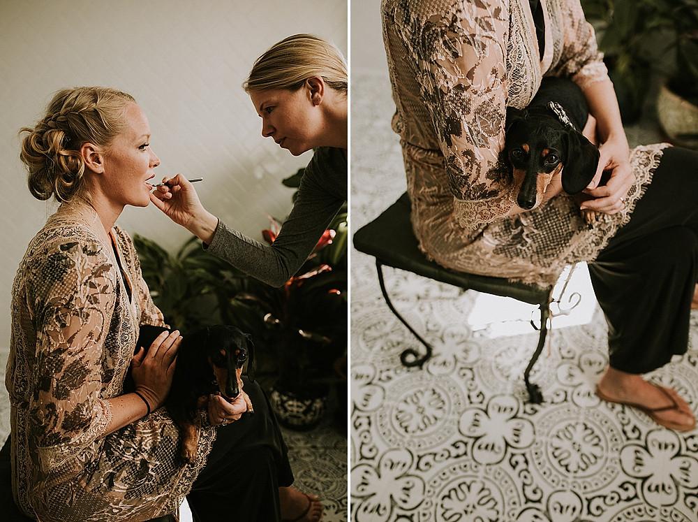 At Home Beauty Pittsburgh Wedding Makeup
