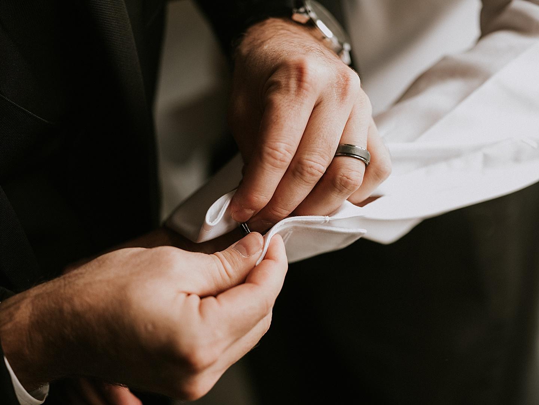 Wedding cufflinks