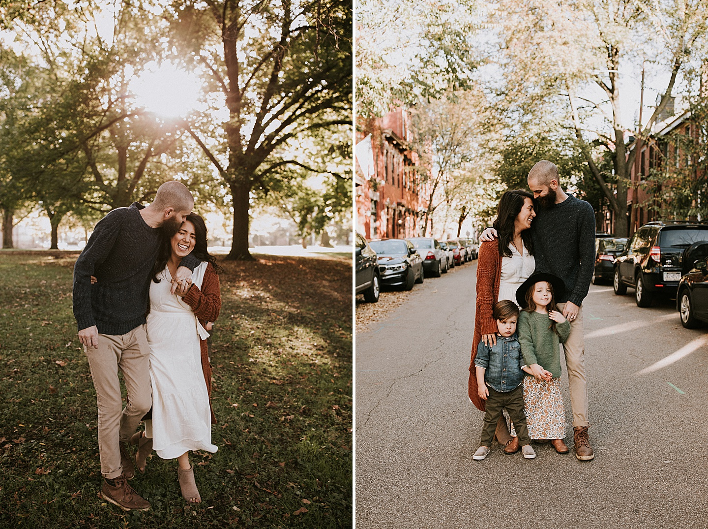 North Side family portrait session Pittsburgh